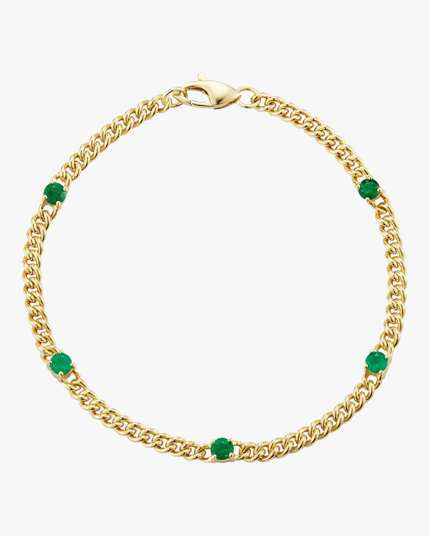 Jemma Wynne Small Curb Link Bracelet 0