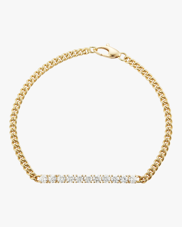 Jemma Wynne Small Curb Link Bracelet 2