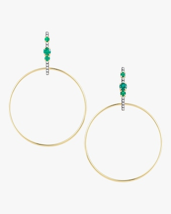 Prive Bar Hoop Earrings