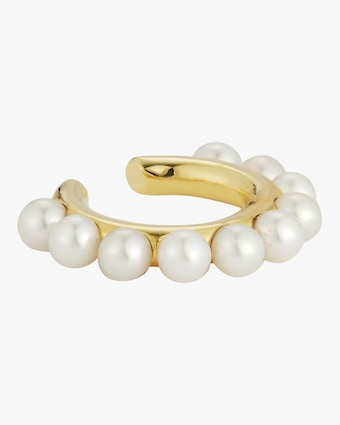 Jemma Wynne Pearl Single Ear Cuff 1