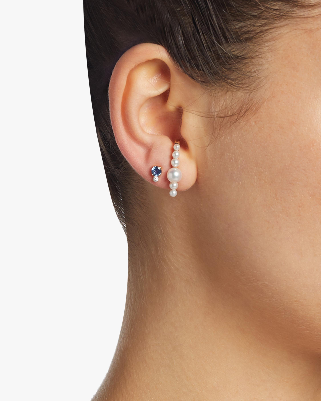Jemma Wynne Pearl Single Ear Cuff 1