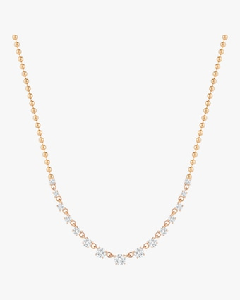 Prive Graduated Diamond Necklace