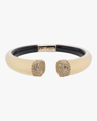 Encrusted Pavé Break Hinge Bracelet