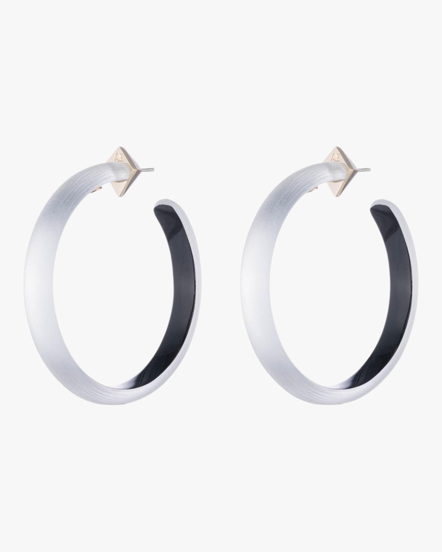 Large Slim Hoop Earrings