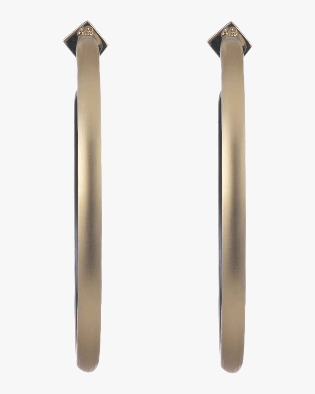 Large Skinny Hoop Earrings