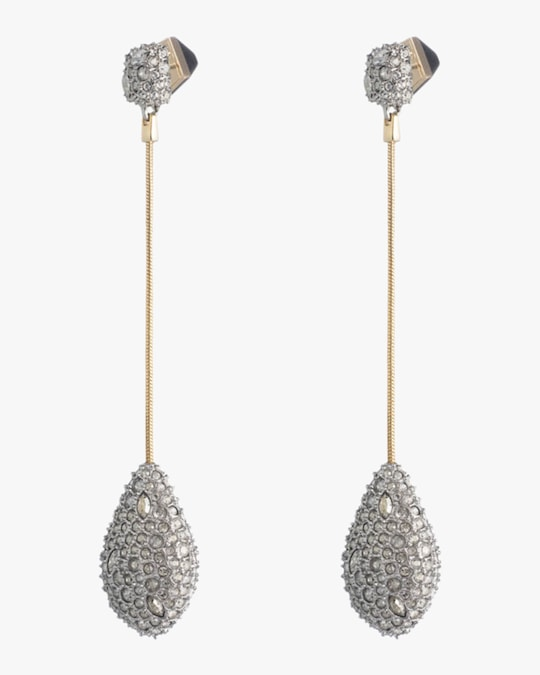 Alexis Bittar Pavé Teardrop Post Earrings 1
