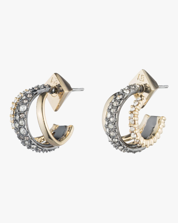 Floating Orbit Post Earrings