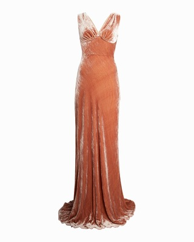 Maria Lucia Hohan Adira Velvet Sleeveless Gown 1