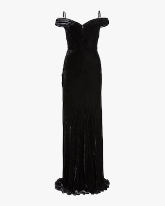Maria Lucia Hohan Ayla Off the Shoulder Gown 1