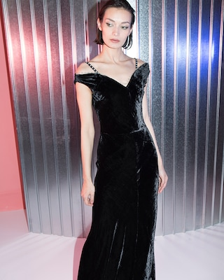 Maria Lucia Hohan Ayla Off the Shoulder Gown 2