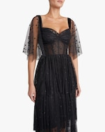 Maria Lucia Hohan Keona Polka Dot Tulle Gown 2