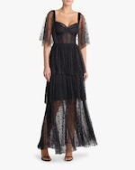 Maria Lucia Hohan Keona Polka Dot Tulle Gown 3