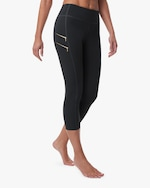 Fierce + Regal The Zippered Capri 1