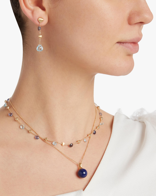 Paradise Gemstone Drop Earrings