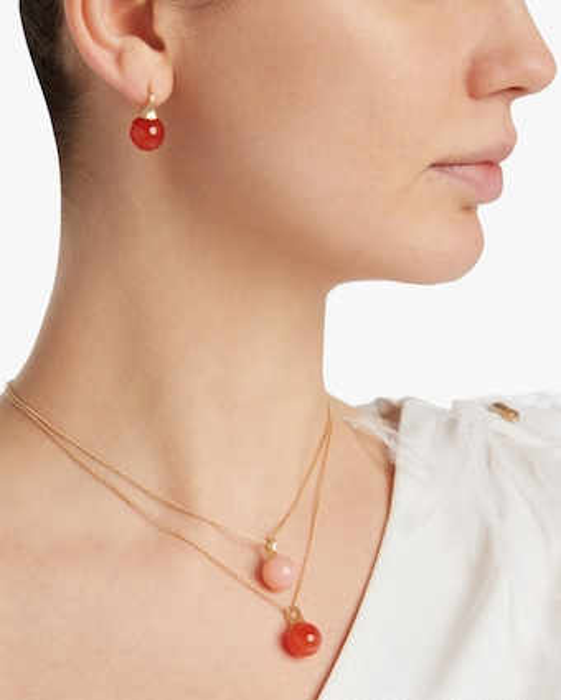 Africa Gemstone Carnelian Earrings