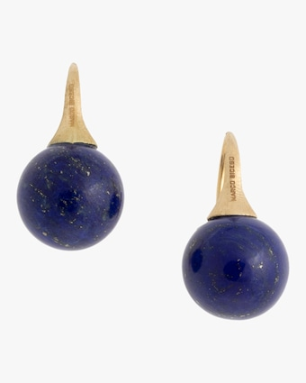 Africa Gemstone Lapis Earrings