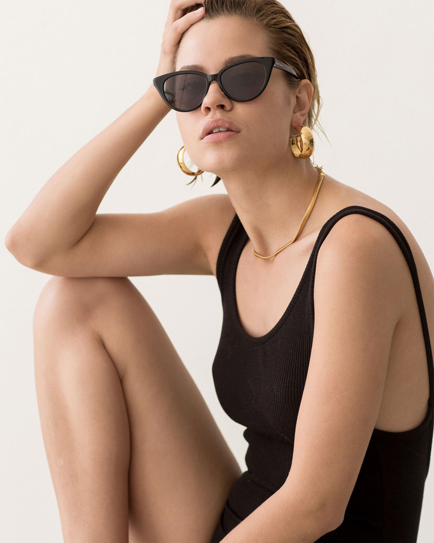 Velvet Canyon La Femme Cat Eye Frame Sunglasses 1