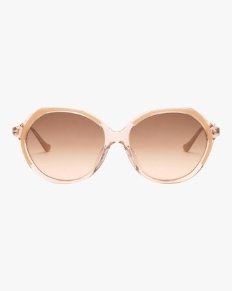 Heartbreakers Oversized Round-Frame Sunglasses