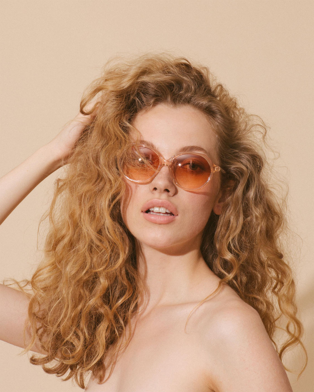 Velvet Canyon Heartbreakers Oversized Round-Frame Sunglasses 1