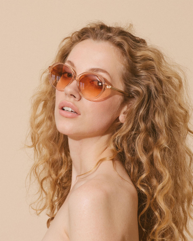 Velvet Canyon Heartbreakers Oversized Round-Frame Sunglasses 3