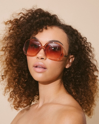 Disco Inferno Butterfly-Frame Sunglasses