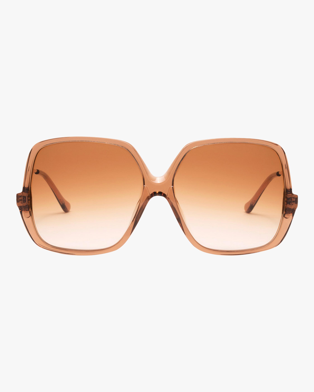 Sunday Brunch Oversized Square-Frame Sunglasses