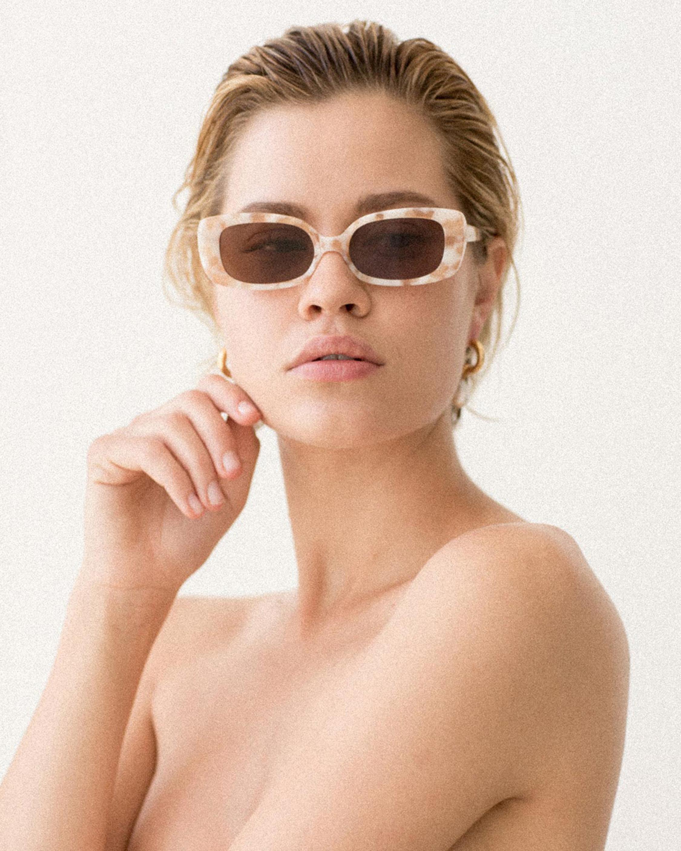 Velvet Canyon Zou Bisou Square-Frame Sunglasses 1
