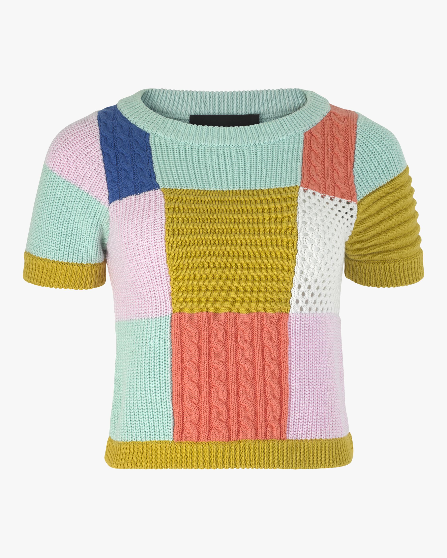 Kiki Patchwork Knit Top