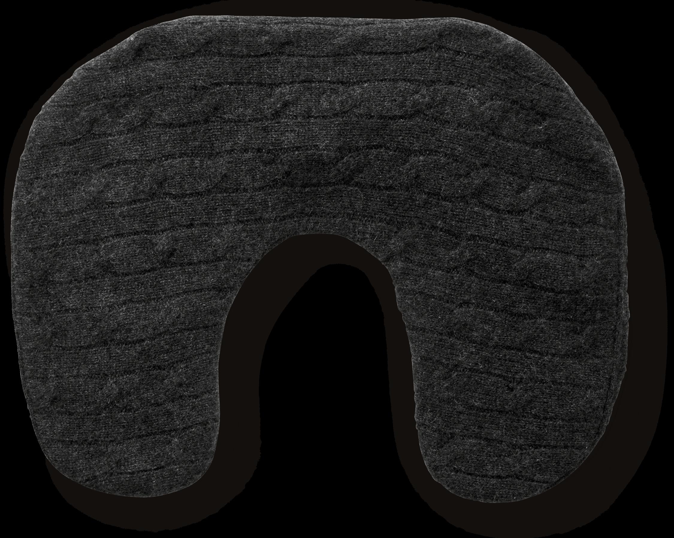 Cashmere Cable Neck Pillow