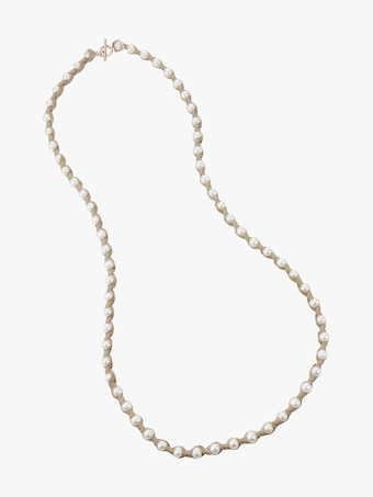 Marta Blanc Bone Necklace 1
