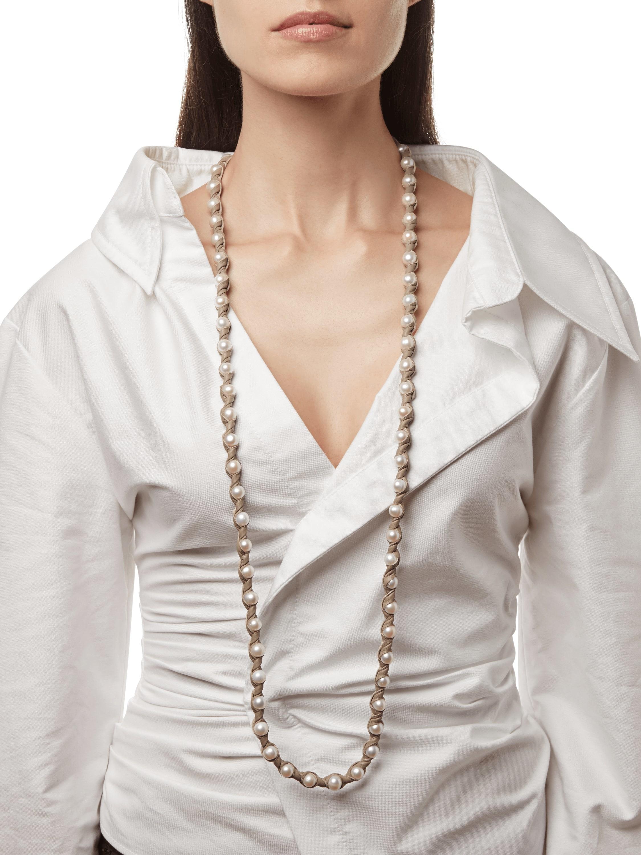 Marta Blanc Bone Necklace 2
