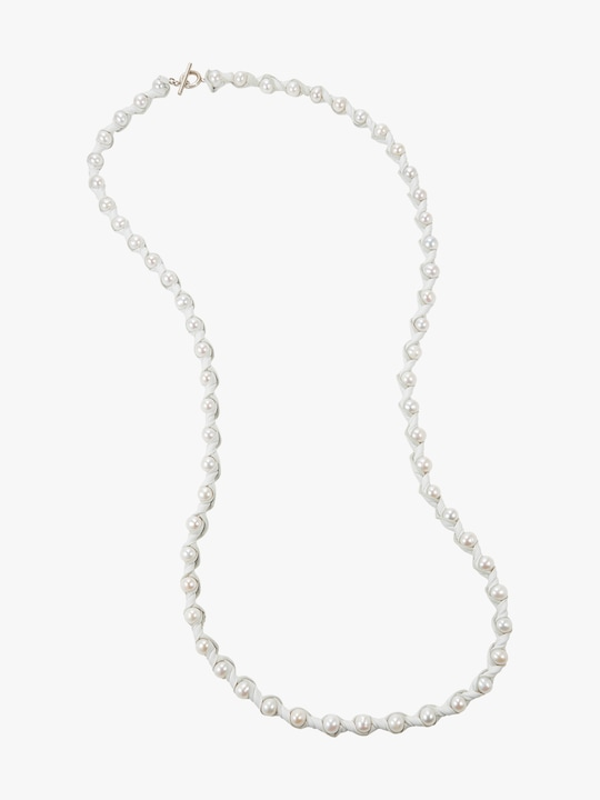 Marta Blanc Neige 48 Inch Necklace 0