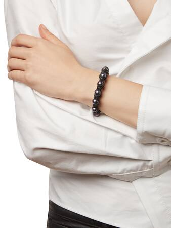 Dahlia Black Bracelet