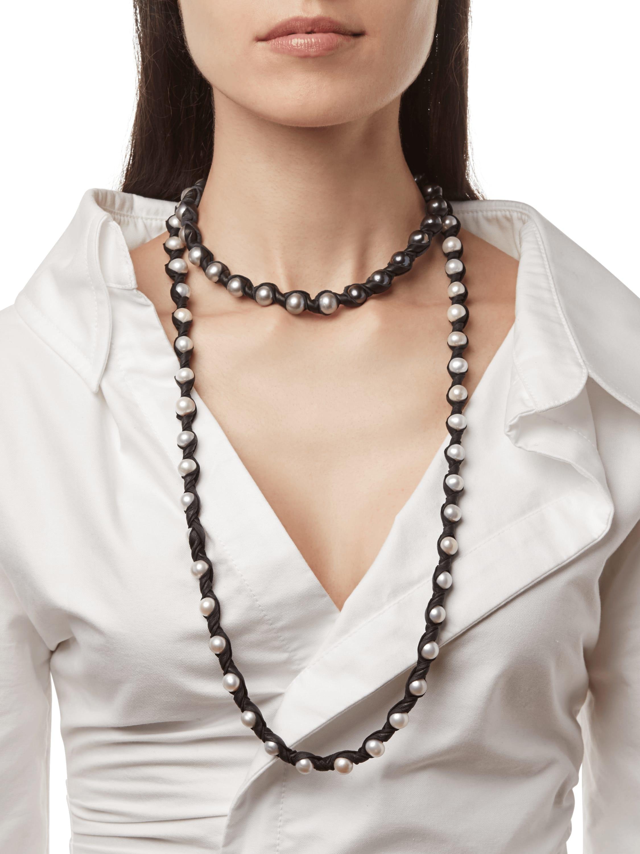 Janus Black Necklace
