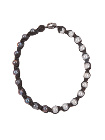 Janus Black Necklace