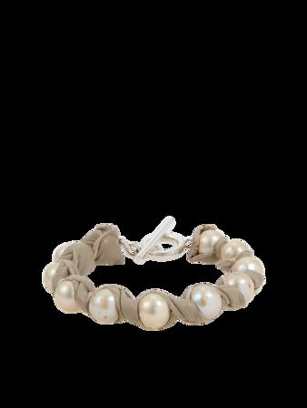 Nevine Bone Bracelet