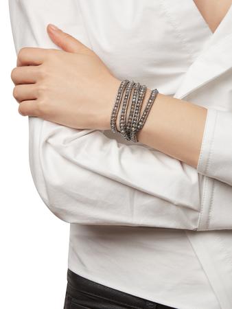 Mystic Labradorite Wrap Bracelet