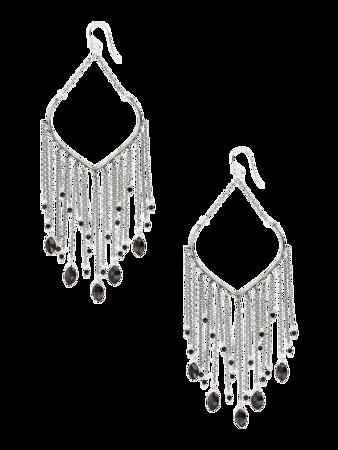 Hypersthene Chandelier Earrings