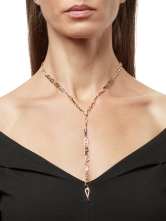 EXTRAORDINARY, LOVED, FEARLESS, WARRIOR Message Necklace