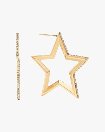 kWIT STAR Hoop Earrings 1
