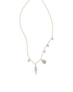 Meira T Gold Spike Necklace with Diamonds 0