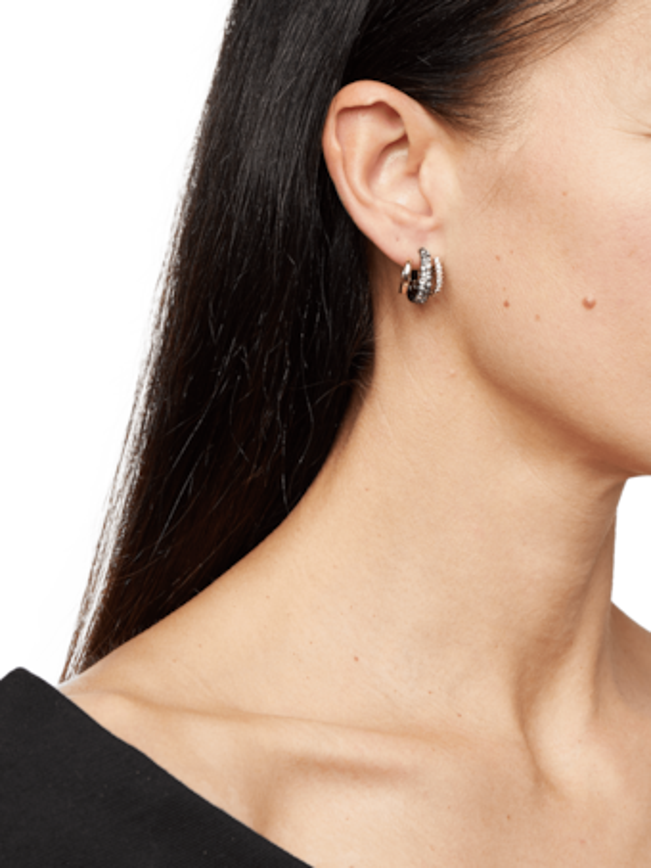 Floating Orbit Post Earring