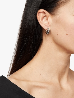 Floating Orbit Post Earring