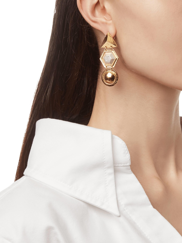 Stephanie Kantis Angularity Geometric Earrings 2