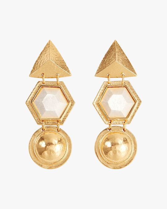 Stephanie Kantis Angularity Geometric Earrings 0