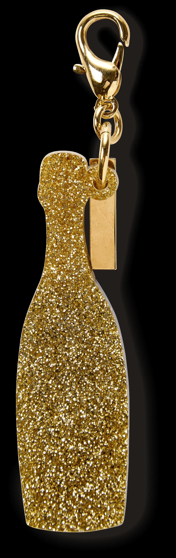Bottle Champagne Charm