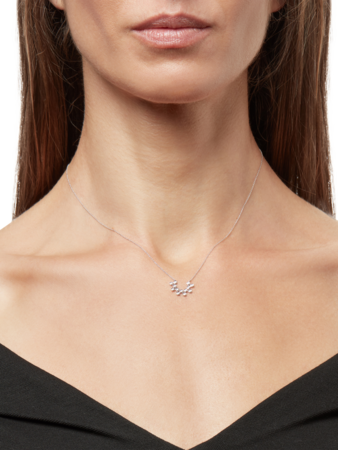 Lulu Jack Diamond Necklace