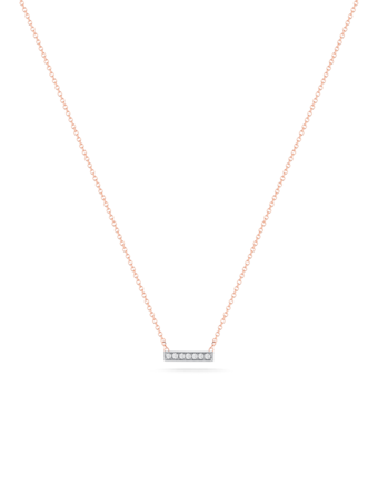 Sylvie Rose Small Bar Necklace