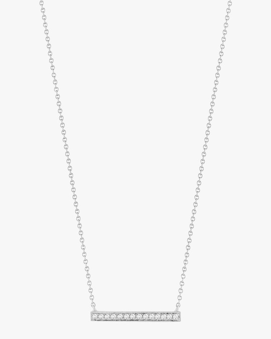 Dana Rebecca Designs Sylvie Rose Medium Bar Necklace 0