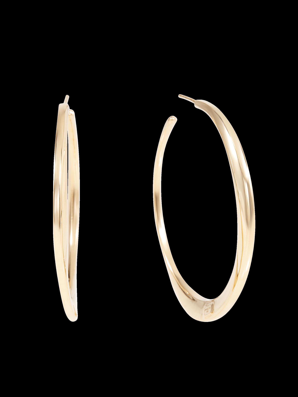 Classico Large Twisted Hoop Earrings